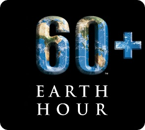 Earth hour logotype