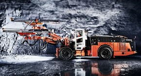 Sandvik DD422iE battery-driven lease drill