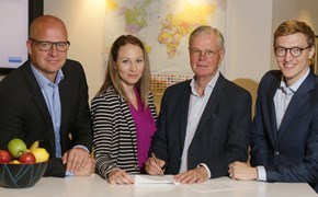 Johan Kerstell, Jessica Alm, Jan Byfors and Albin Thureson.